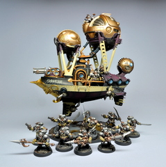 Arkanaut Frigate and Arkanaut Company