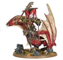 Orruk Warboss on Wyvern