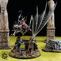 Eemus Dracoth - Vampire Lord on Zombie Dragon