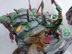 Ork of the rogue idol of gork