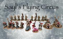 Sayl's 1k flying circus