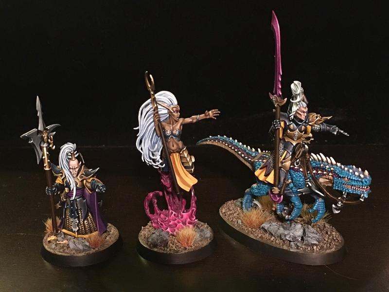 Reavers of the Shattered Coast command