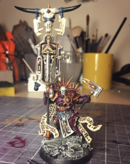 Lord Relictor Cleophus, Astral Templar (WIP)