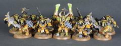 My Ironjawz Warchanter and His Brute Bodyguards