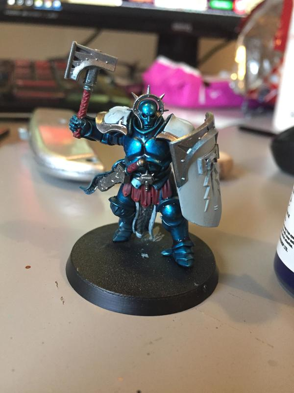 Tester model - Knights of the Tempest (base colours)