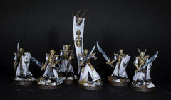 Slaaneshi elves masked guard