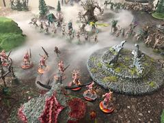 Maggotkin and the Sylvaneth face off over sacred ground.