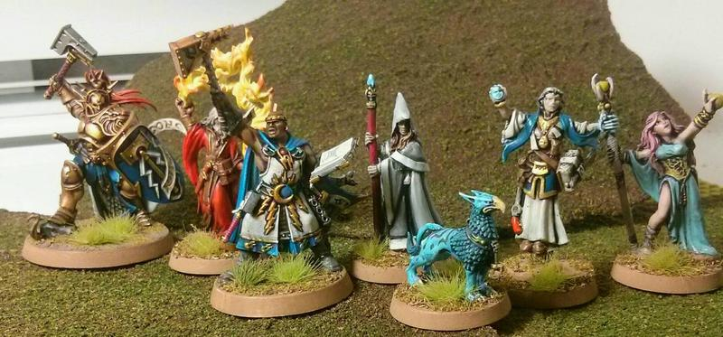3rd Party Alternative Fantasy Models - Painting and