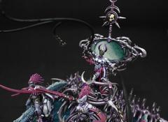 Zailcha, herald of Slaanesh on exalted seeker chariot (2)