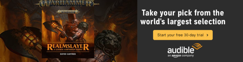 Free Age of Sigmar Audio books with TGA and Audible - Site Rules and