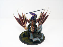 Vampire Lord on Zombie Dragon