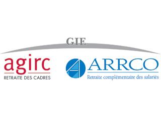 Logo de AGIRC ARRCO