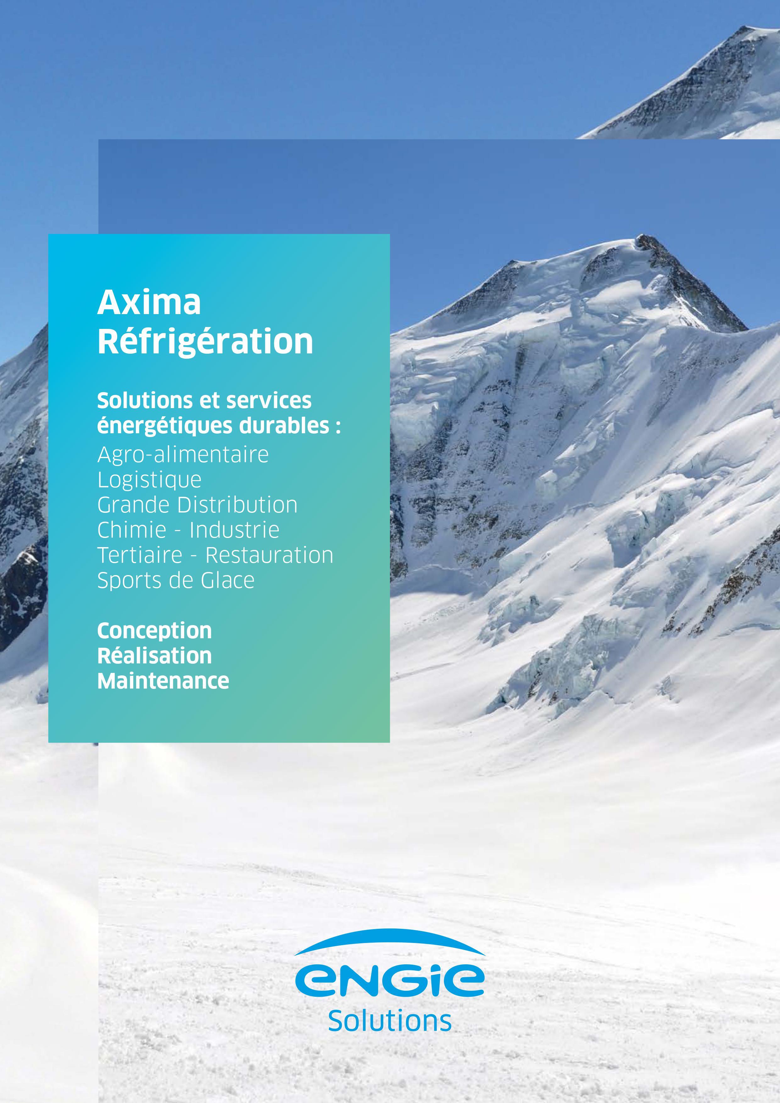 Plaquette Axima Réfrigération