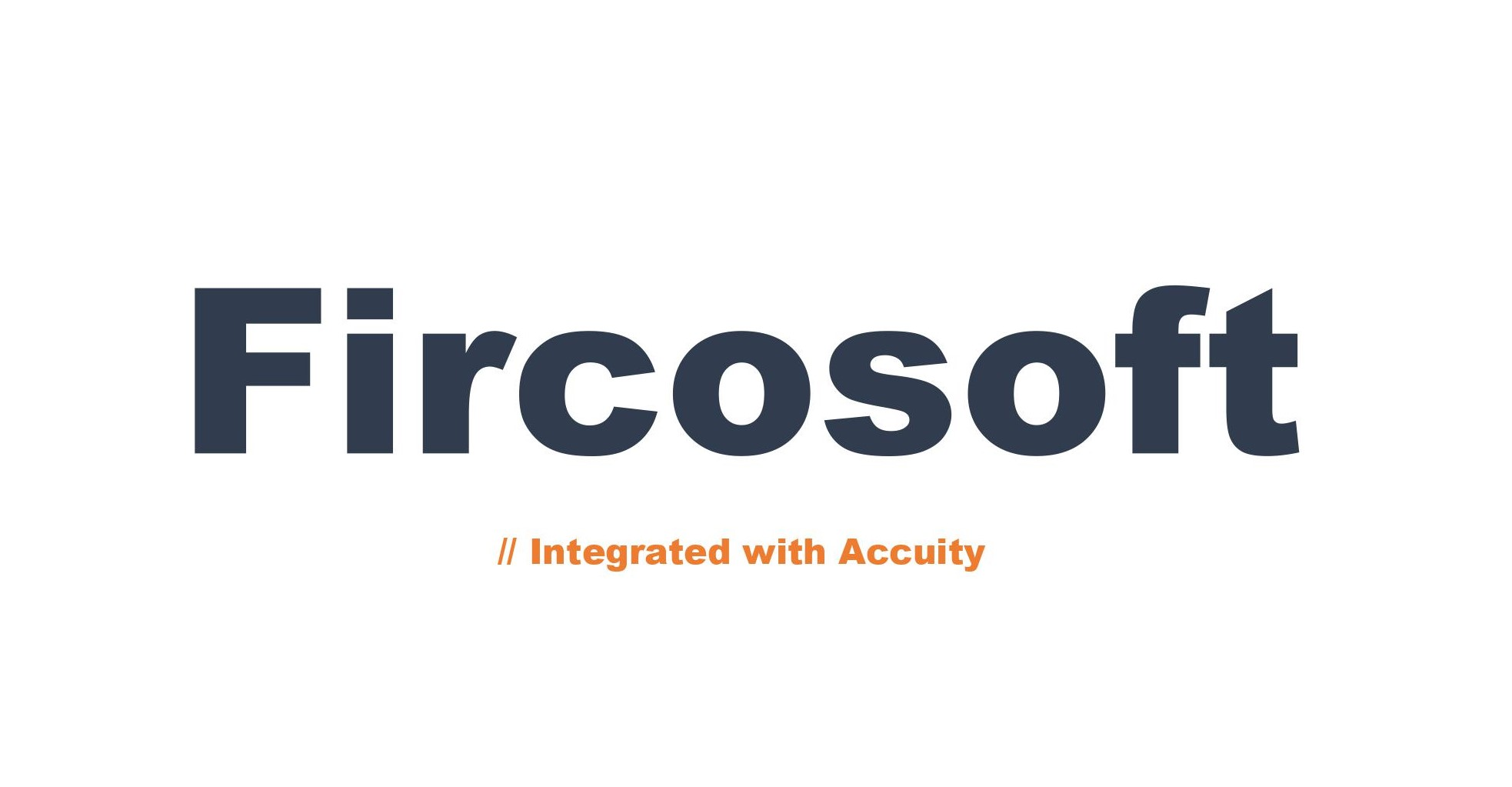 logo de Fircosoft - integrated with Accuity