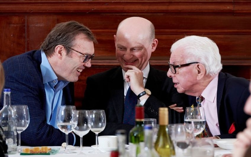 Andrew Morton Harry Mount Barry Cryer