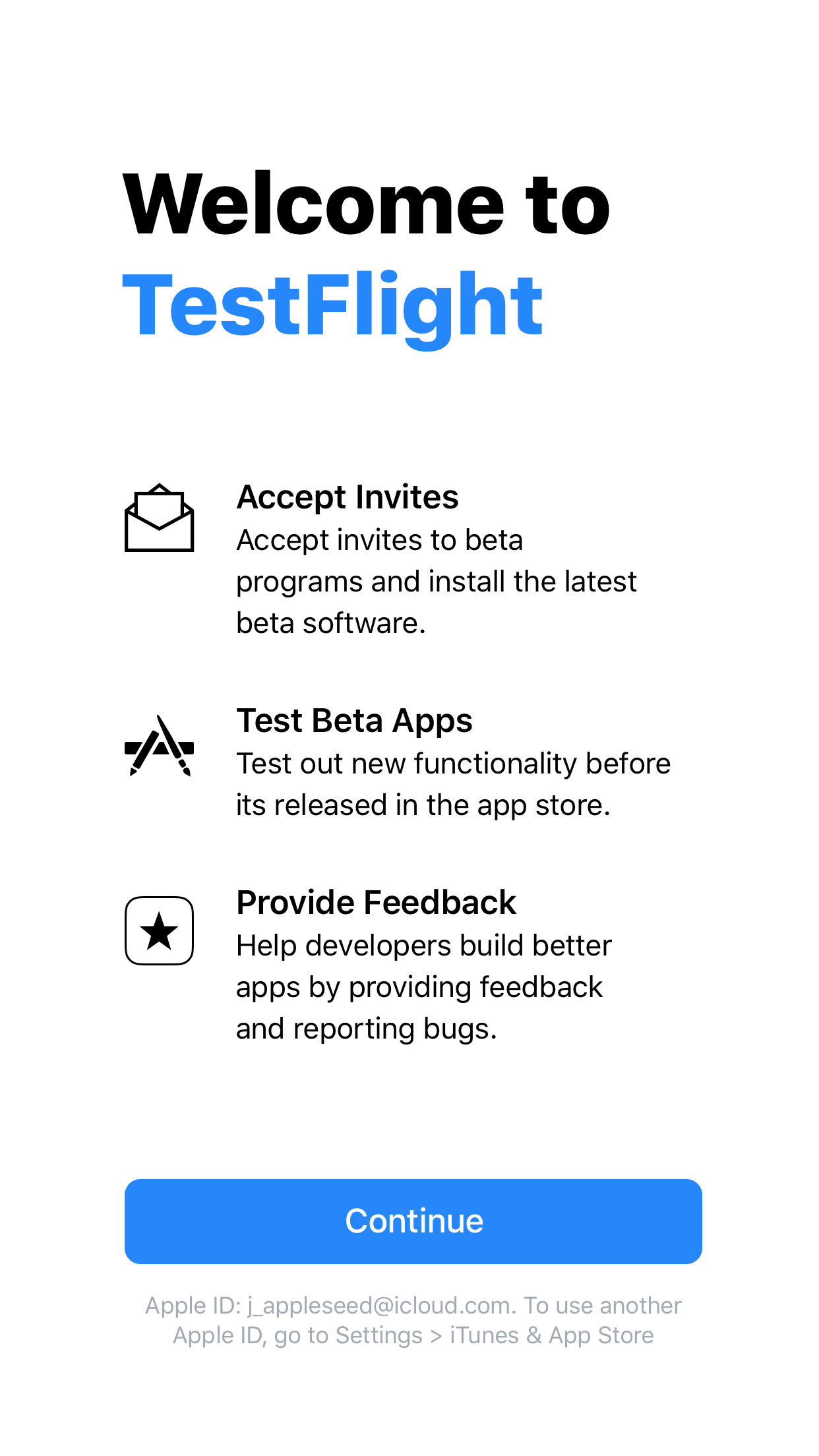Fwicfashion , TestFlight looking for testers - Beta Family