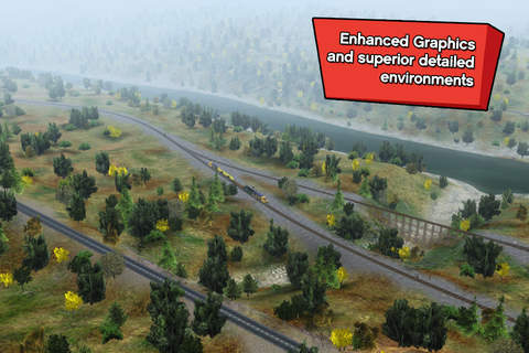Trainz Driver 2 - train driving game, realistic 3D looking for