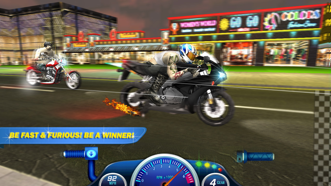 Individual, Top Bike Racing Rivals looking for testers