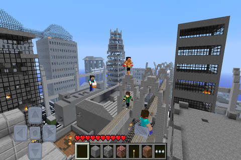 Minecraft PE with Minecraft Skin Exporter (PC Edit looking