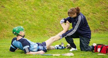 Sports first aid course