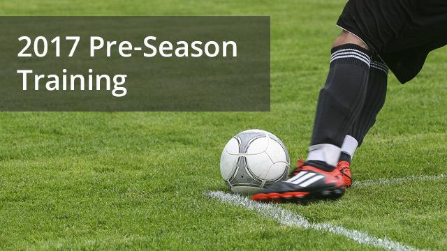 Pre season training
