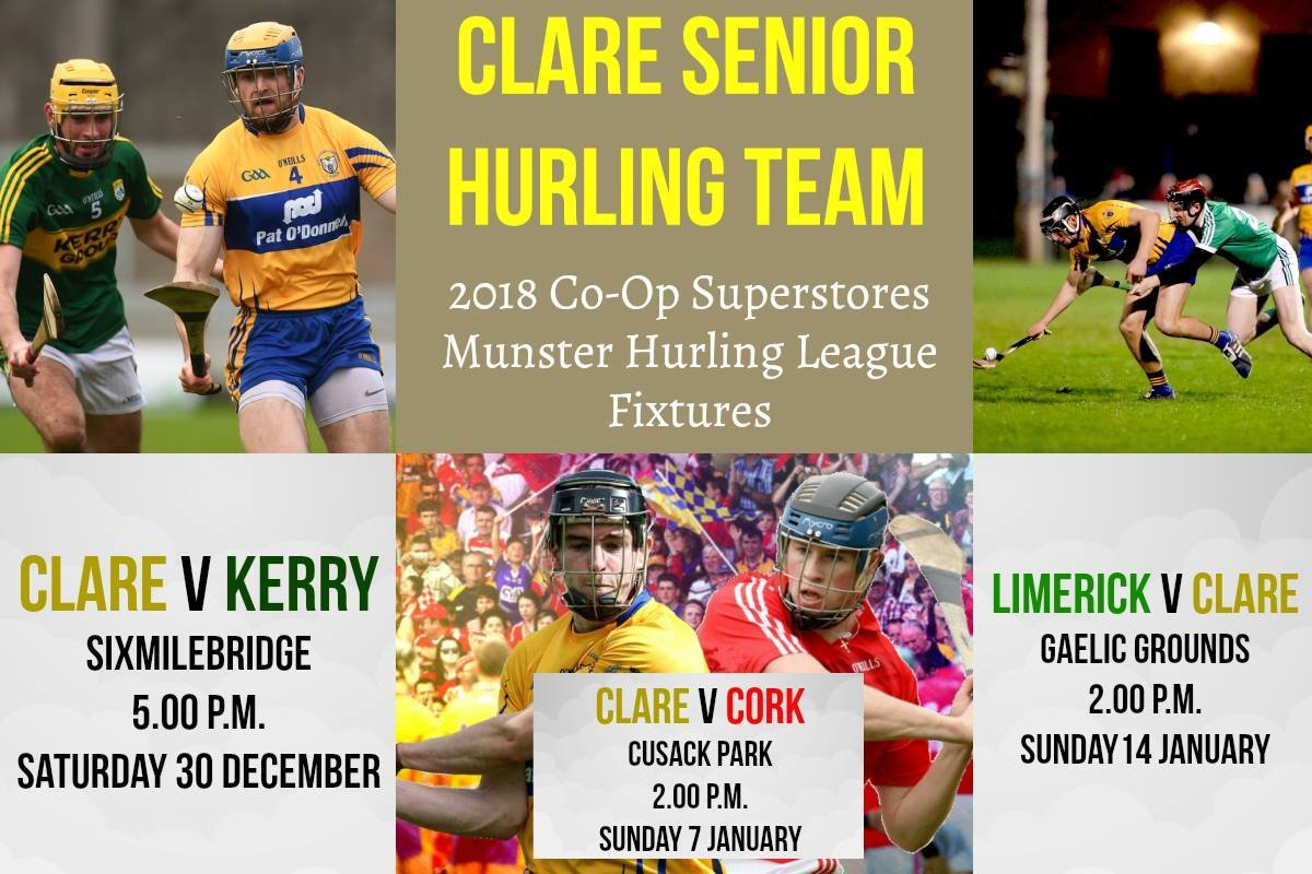 Clare 20munster 20league