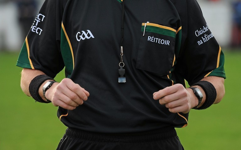 Gaa referee general