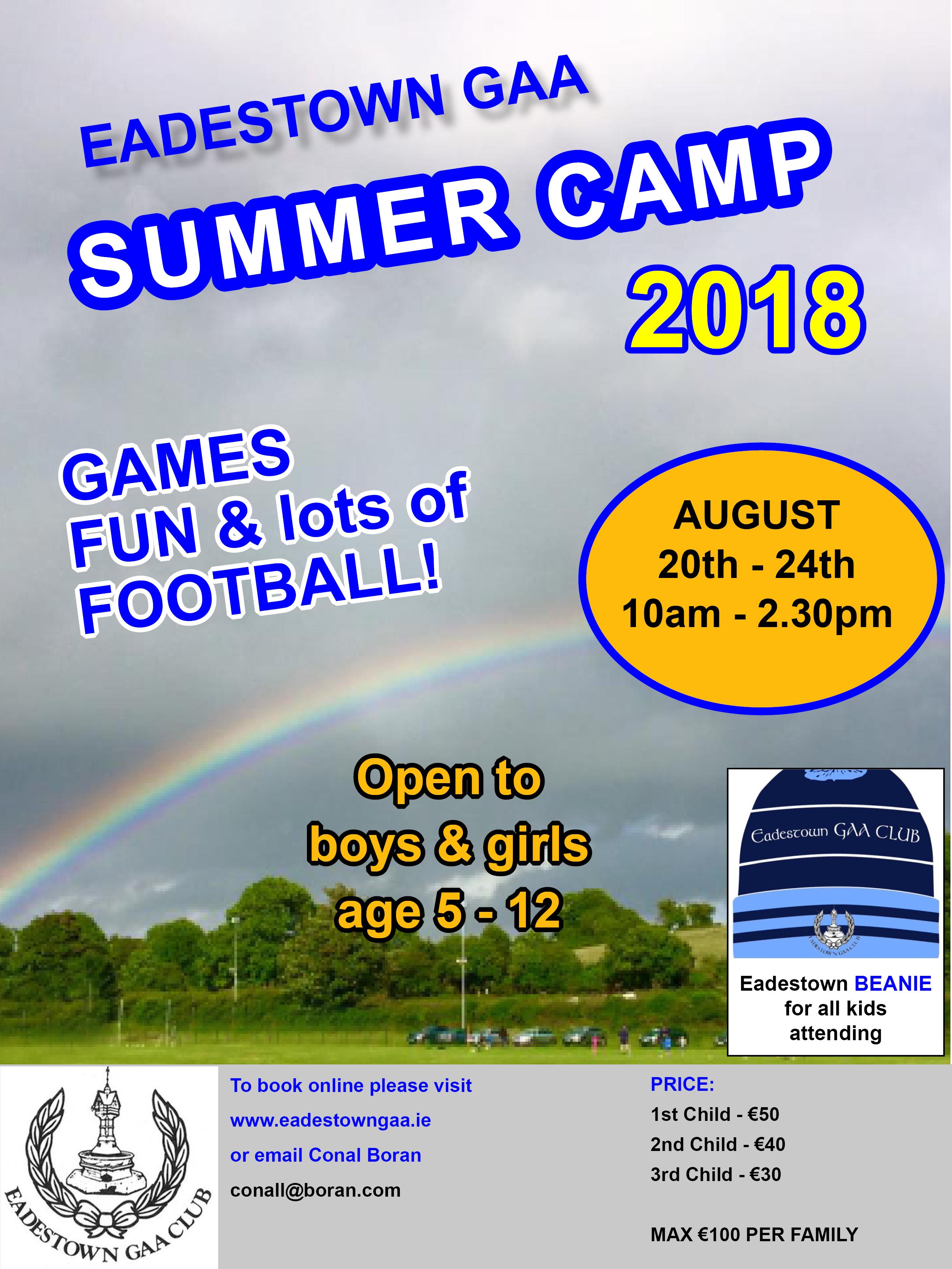 Summer 20camp 202018