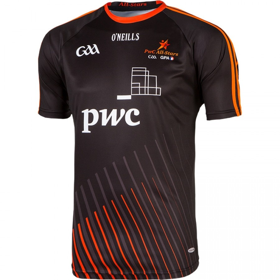 Gaa all stars jersey blk 1