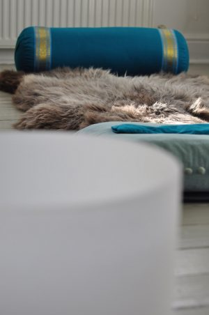The benefits of using sheepskins for yoga