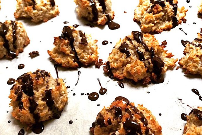 Sweet Delight Coconut Macaroons
