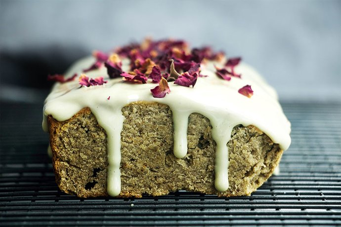 Bloom teas matcha banana bread