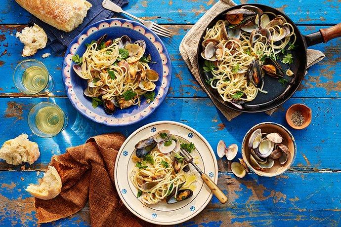 Nudo spaghetti with clams2
