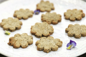Healthy tiger nut shortbread