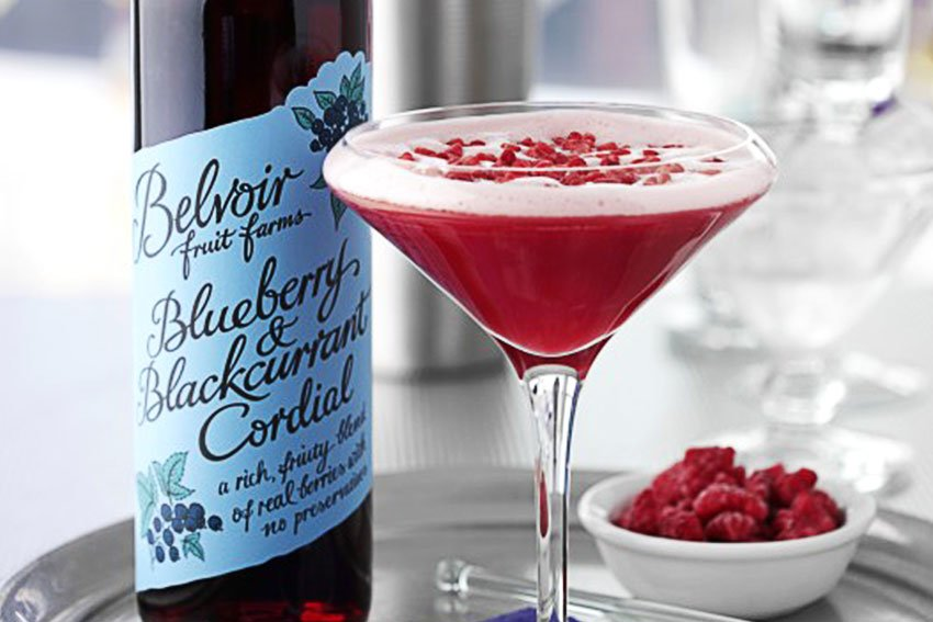Belvoir Fruit Farms Black and Blue Fruit Fool