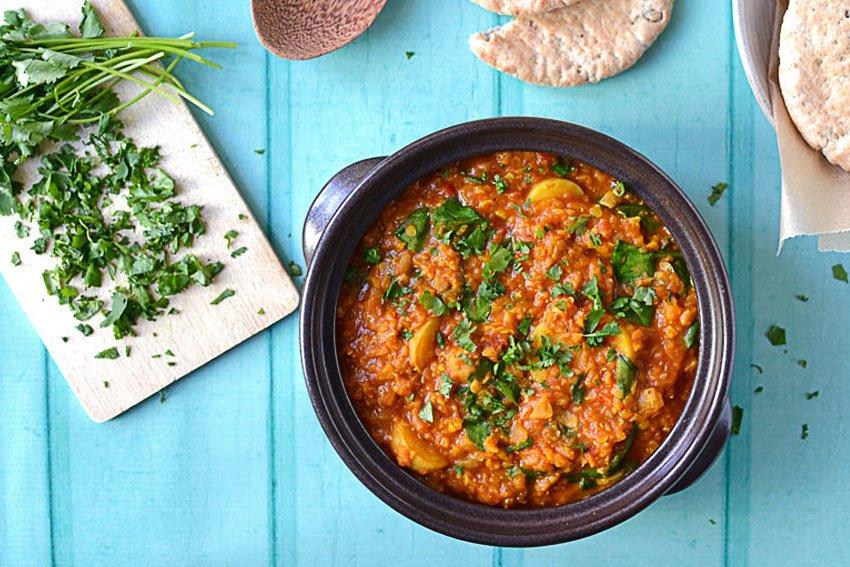 Recipe: Spinach, Red Lentil & Aduna Baobab Curry