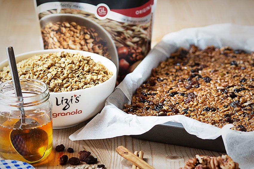Lizis granola bars blog