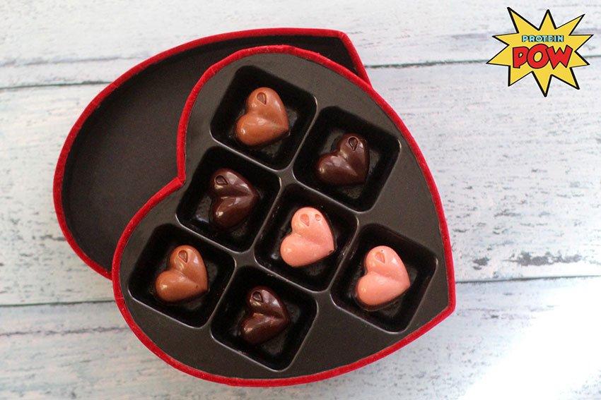 Valentine's Day Protein Pow Chocolates
