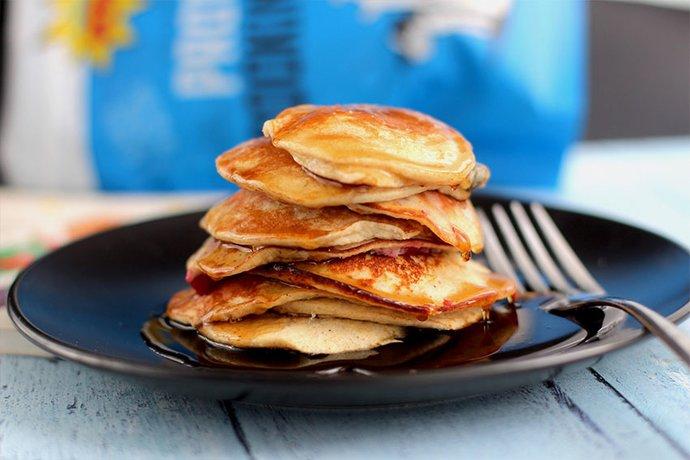 Protein pow pancakes