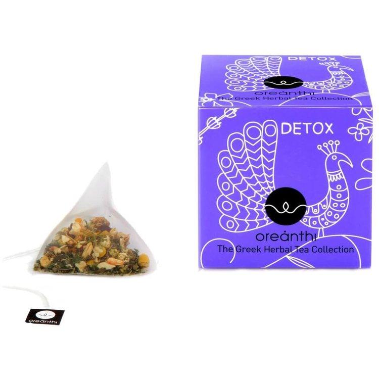 'Detox' Greek Herbal Tea with Olive Leaves & Lime Flowers 15 Tea Bags