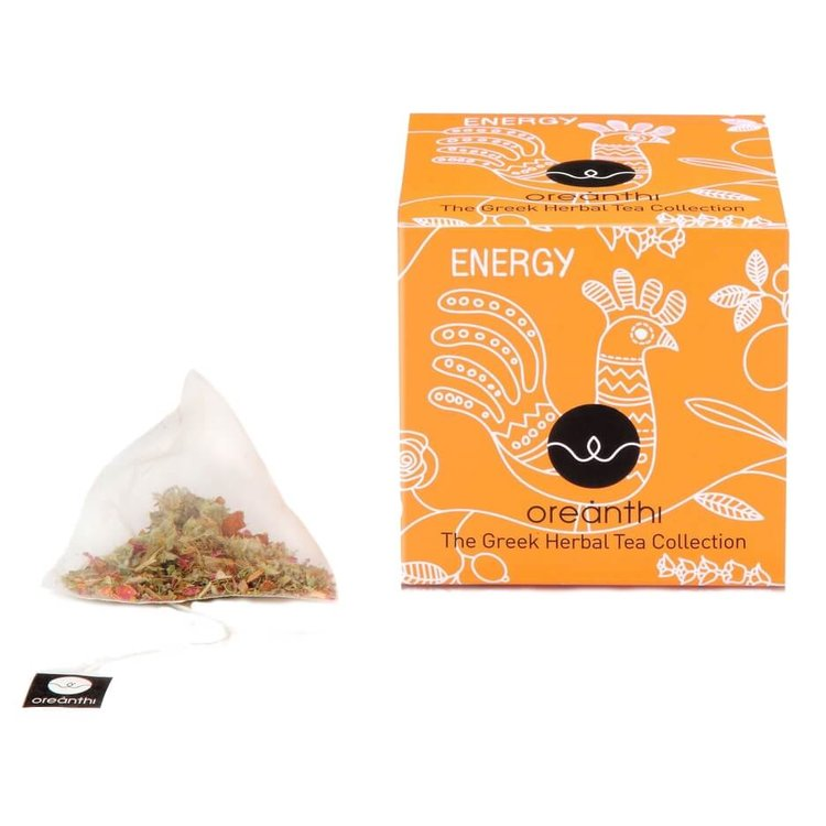 'Energy' Greek Herbal Tea with Olive Leaves & Lemon 15 Tea Bags