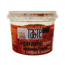 togarashi spice fiery