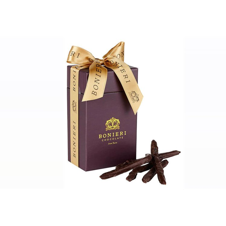 'Bella Box Orange' Gift Box - Orange Peel Covered in Dark Chocolate 150g