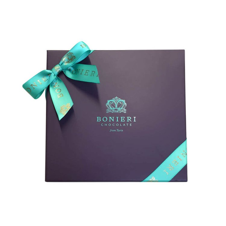 'Diva Box Cremini' Gift Box with Deluxe Gianduja Italian Chocolates
