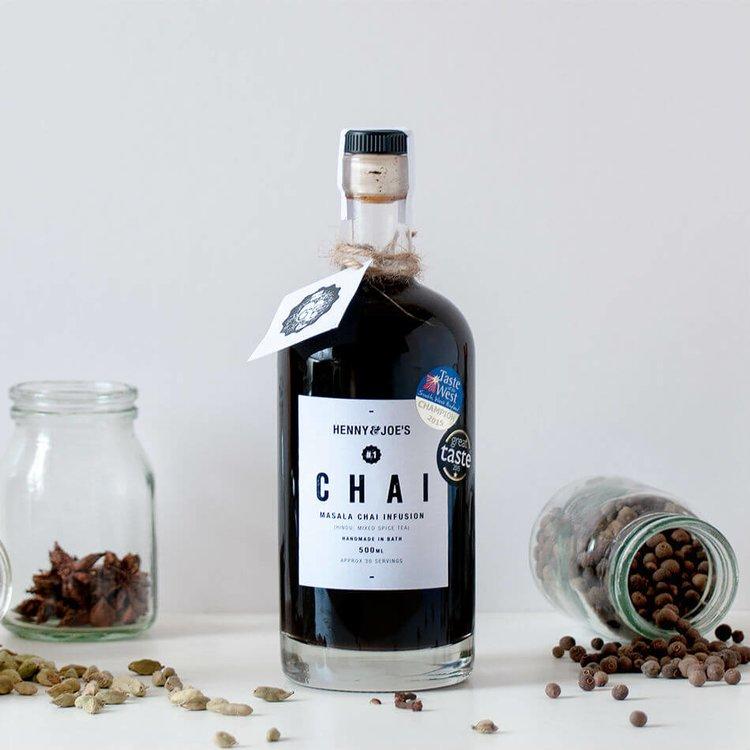 Masala Chai Syrup 500ml (For Chai Tea, Chai Latte, Cocktails & Baking)