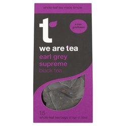 Earl Grey Supreme Tea 15 Tea Bags by We Are Tea