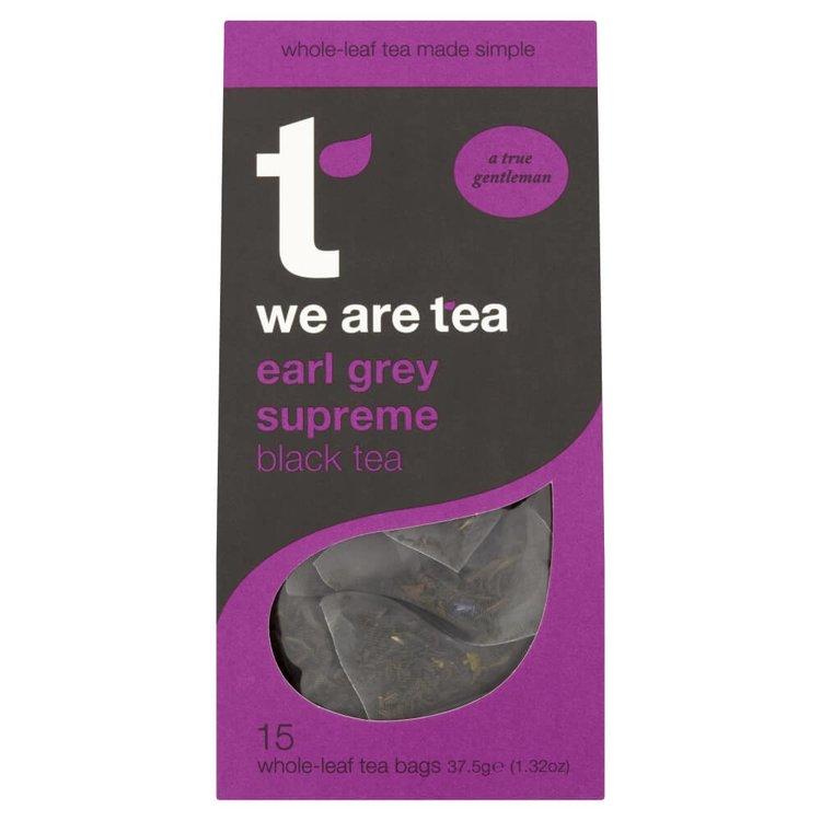 Earl Grey Supreme Tea 15 Tea Bags by We Are Tea