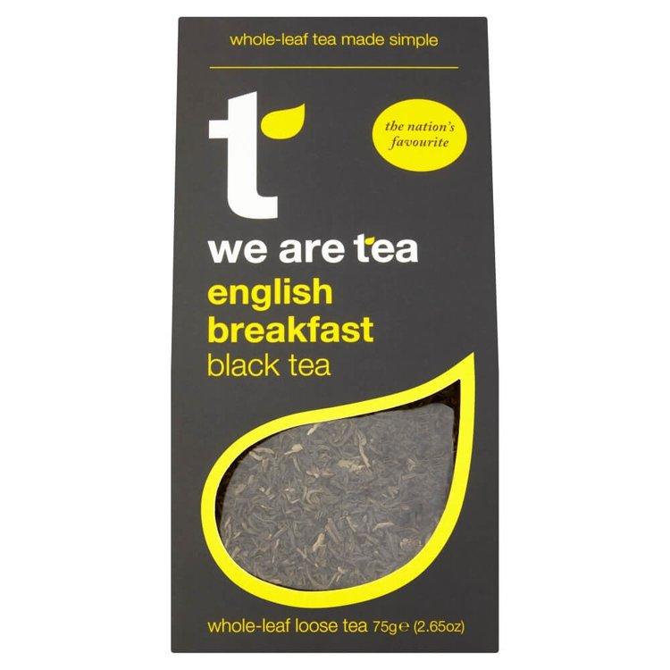 English Breakfast Loose Leaf Black Tea 75g by We Are Tea