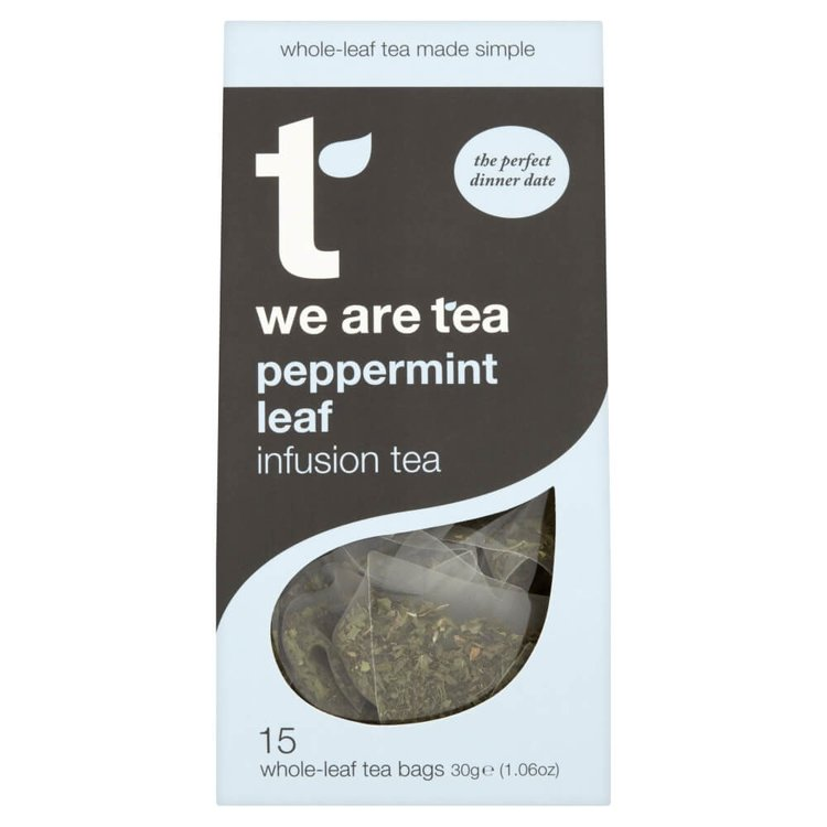 Black Peppermint Tea 15 Tea Bags by We Are Tea