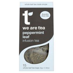 Black Peppermint Tea 15 Tea Bags by We Are Tea